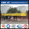 2axle Cimc Huajun Cargo Fence Trailer with Side Wall