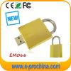 Golden Lock USB Flash Disks, Padlock USB Flash Drive, EM-066