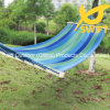 Outdoor Stripe Canvas Hammock with Spread Rod
