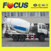 High Qualitly Self Loading Concrete Truck Mixer, 6-Cylinder Concrete Mixer Truck of 8m3