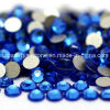 3A Luxury Sapphire Flat Back Non Hotfix Crystal Rhinestone for Nail (FB-SS20 capri blue)