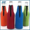 Neoprene Zipper Bottle Cooler/Koozie