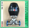 Dn40 Stainless Steel Ss316L Pneumatic Actuator Diaphragm Valves with Clamp