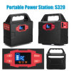 30W Multi-Function Portable Solar Generator with Solar Panel