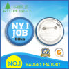 Simple Style of Blue Plastic Badge Hot Search