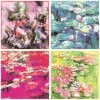 Economic Digital Printing Silk Scarves (F-013)