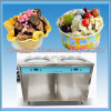 Factory Direct Sale Fried Ice Cream Machine with Good Compressor