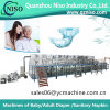 Incontinence Pads Making Machine for Adult Diaper Fitted Briefs (Tab-Style) with Servo Motor