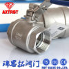 2PC Floating Stainless Steel Full Port Threaded Ball Valve