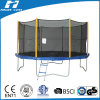 14FT Standard Round Trampoline with Blue Frame Pad