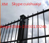 868 Security Powder Coated Double Wire Mesh Fence/Twin Wire Fence