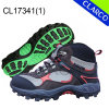 TPR Sole Leather Women Sports Outdoor Hiking Shoes