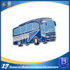 Silver Plated Custom Soft Enamel Metal Bus Shaped Lapel Pin