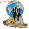 Personal Design Custom Enamel Gold Lapel Pin for Club