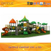 Playground Equipment with 4.5′′ Galvanized Post for Children