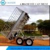 Tandem Axle Fully Welded Hydraulic Trailer