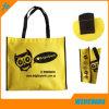 Silk Screen Printing Non Woven Fabric Tote Bag with Customized Logo
