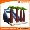 New Plam Tree Inflatable Jumping Toy Bouncy Slide (T4-304)