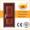 Security Main Designs Exterior Iron Door with Standard Size (SC-S143)