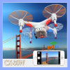 Cx-30W Real-Time Video Cx-30 4CH 2.4GHz Fpv RC Quadcopter Helicopter WiFi Smart Phone Control Drone with HD Camera