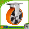 Zinc Plated Fixed Caster Heavy Duty Trolley Wheel
