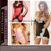 Sexy Lace Women Transparent Baby Doll Night Dress Lingerie (T21901)