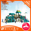 Standards Outdoor Playground Equipment Plastic Slides for Children