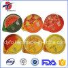 Printed & Embossed Die Cut Foil Sealing Lids For Fruit Juice