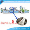Non Woven Box Bag Making Machine with Online Handle Attached