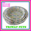 Comfort Coral Velvet Foam Beds for Dogs and Cats (WY161045A/C)