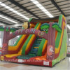 Inflatable Monkey Funny Slide with Both Channe (AQ09102-1)