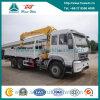 Sinotruk HOWO 6X4 266HP Truck with Straight Boom Crane