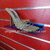 Custom Clear Slatwall Acrylic Shoe Shelf