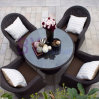 Rattan Bar Coffee House Garden Balcony Outdoor Leisure Furniture