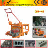 Shengya Brand Egg Laying Qm4-45 Concrete Hollow Block Machine with Diesel Engine in Africa
