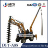 Portable Wheels Mounted Piling Drilling Machine for Pole Erecting