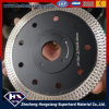 Good Sharpness Cyclone Mesh Turbo Diamond Saw Blade for Marble Granite Concrete