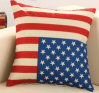 Competitive Quality Wholesale 100% Cotton Flag Printed Sofa Cover
