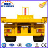 3 Axle Tipping Dump Trailer for Container Use