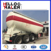 Three Axles 40cbm Bulk Cement Tank Trailer with Compressor