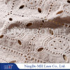 Vintage Embroidery Cotton Eyelet Lace Fabric off White -M002296