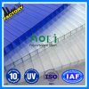 Transparent Clear Polycarbonate Hollow PC Sheet in Greenhouse