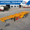 40FT Container Chassis Skeleton Semi Trailer with Rear Platform