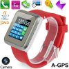 Agps Watch Mobile Phone with GSM Audio GPS Monitor Position Tracker