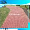 High Quality Color Through Interlock Rubber Flooring