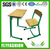 High Quality School Classroom Study Wooden Desk with Chair (SF-67S)