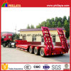60tons Concaved Step Deck Lowbed Semi Tuck Low Loader Trailer