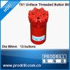 T51 Dia. 89mm Flat Face Threading Drill Bit