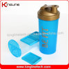 1000ml Plastic Protein Shaker Bottle with Blender Mixer Ball Inside (KL-7060)