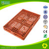 Logistic Storage Plastic Transport Pallet for Cargo with Grabs